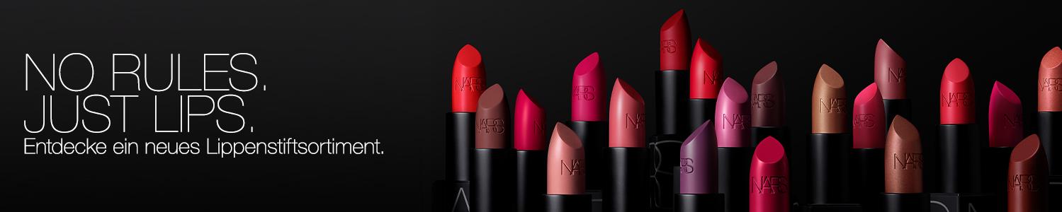 Entdecke ein neues Lippenstiftsortiment.